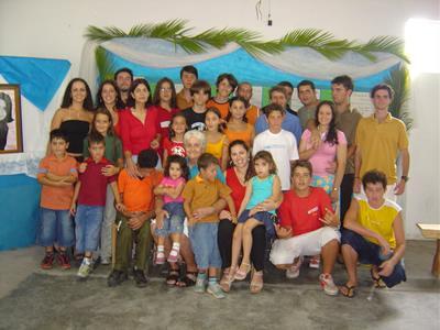 9° Encontro: 44° Aniversário de Maria Santina Tramontin